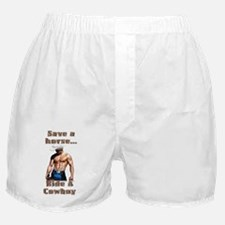 Cute Save a horse ride a nurse Boxer Shorts