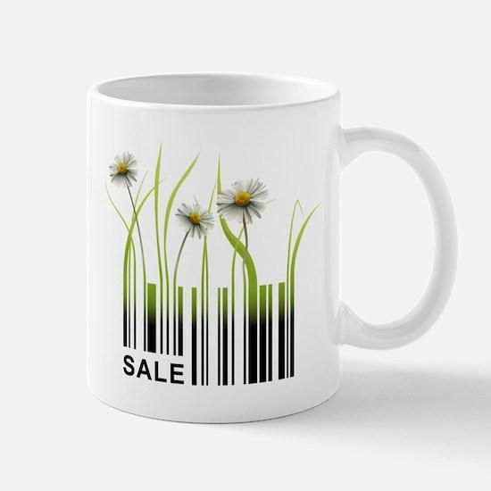 Barcode plant design Mugs