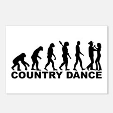 Evolution country dance Postcards (Package of 8)