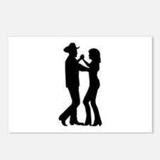 Country dancing Postcards (Package of 8)
