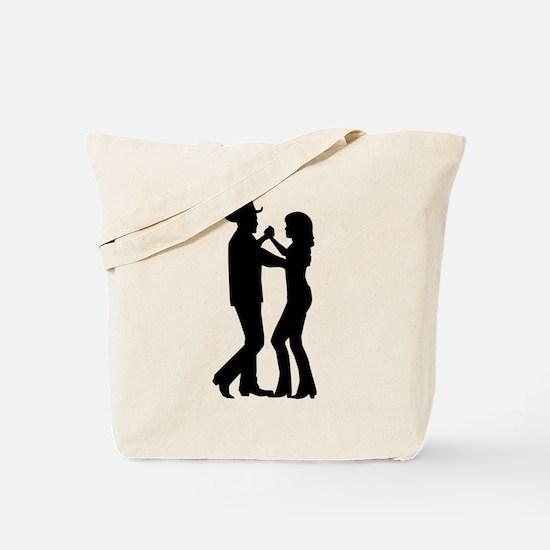 Country dancing Tote Bag