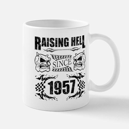 Raising Hell Since 1957 Mugs