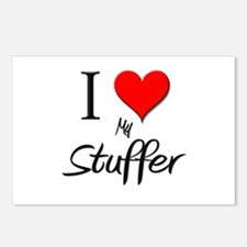 I Love My Stuffer Postcards (Package of 8)