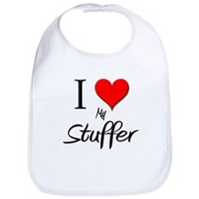I Love My Stuffer Bib