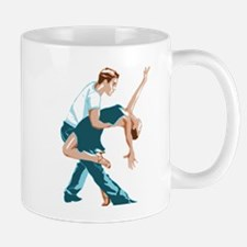 Salsa Dancers in two-tone color Mugs