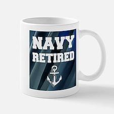 Navy Retired Mugs