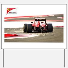 Unique Formula 1 Yard Sign