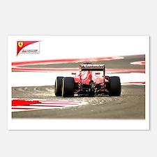 Cute Formula 1 Postcards (Package of 8)