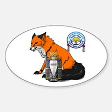 Leicester City BPL Champions Decal