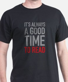 Good Time To Read T-Shirt