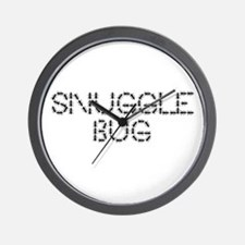 snugglebug Wall Clock