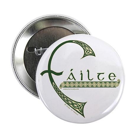 """Failte Design 2.25"""" Button"""