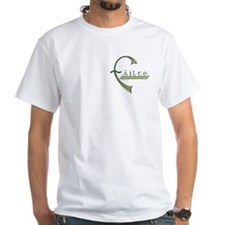 Failte Celtic T-Shirt - White - Front/Back