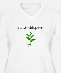 plant whisperer.bmp Plus Size T-Shirt
