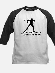 Cross country skiing Tee