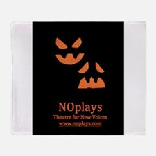 NOplays Logo and Name Throw Blanket