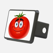 Smiley tomato Vegetable ca Hitch Cover