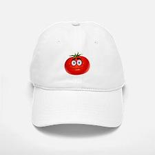 Smiley tomato Vegetable cartoon Baseball Baseball Cap