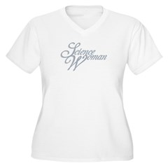 Science Woman T-Shirt