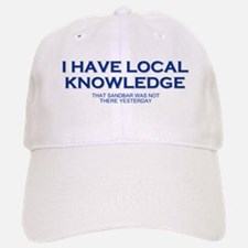 Boaters Local Knowledge Baseball Baseball Cap