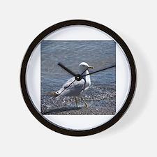 Cute Seagull Wall Clock
