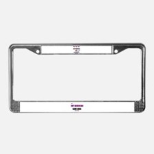 NO MORE CHINA PRODUCTS License Plate Frame