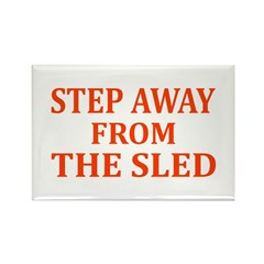 Sledding T-shirts & Gifts Rectangle Magnet (10 pac
