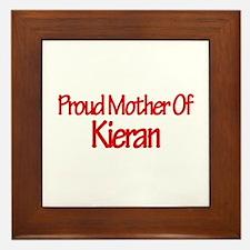 Proud Mother of Kieran Framed Tile