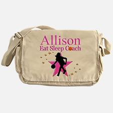 BASKETBALL COACH Messenger Bag