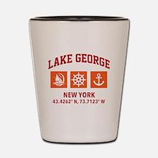 Unique Lake Shot Glass