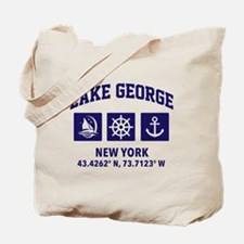 Cute Lake george Tote Bag