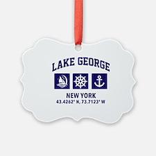 Cool Lake george Ornament