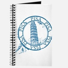 Pisa travel stamp Journal