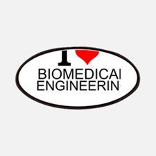 I Love Biomedical Engineering Patch