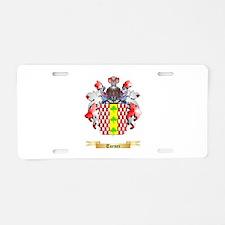 Turner Aluminum License Plate