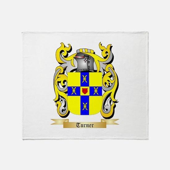 Turner (Ireland) Throw Blanket