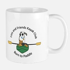 Puppies Born to Paddle Mugs