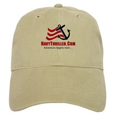 Navy Thriller Ball Baseball Cap