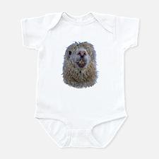 Alpaca Closeup Infant Bodysuit
