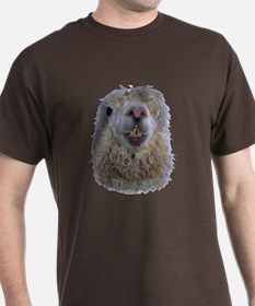 Alpaca Closeup T-Shirt