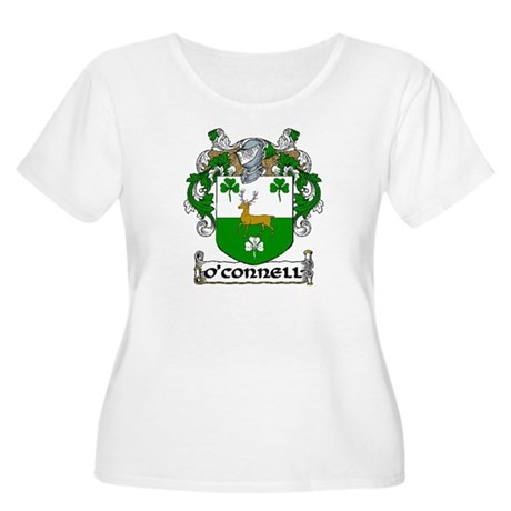 O'Connell Coat of Arms Women's Plus Size Scoop Nec