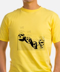 Queen - We Will Rock You (Rushmore) T-Shirt