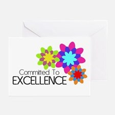 """Committed to Excellence"" Greeting Cards (Pk of 20"