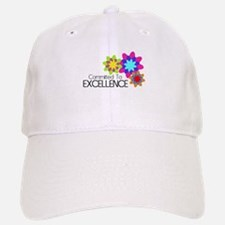 """""""Committed to Excellence"""" Baseball Baseball Cap"""