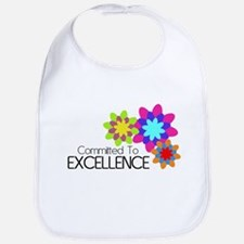"""Committed to Excellence"" Bib"