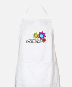 """""""Committed to Excellence"""" BBQ Apron"""