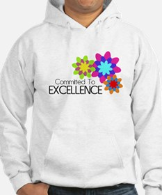 """Committed to Excellence"" Hoodie"