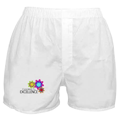 """""""Committed to Excellence"""" Boxer Shorts"""