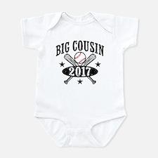 Big Cousin 2017 Baseball Infant Bodysuit
