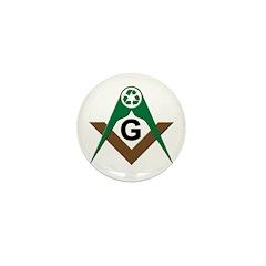 Masonic Recyclers Mini Button (100 pack)